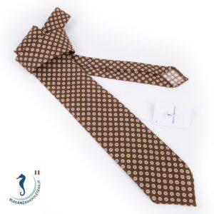 cravatta artigianale sfoderata seta