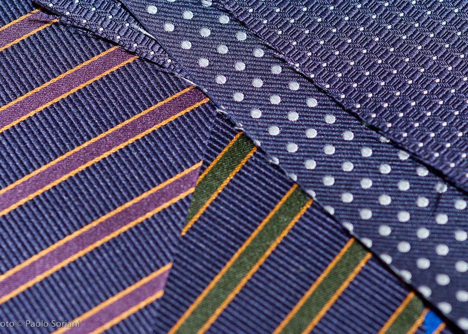 cravatte artigianali sette pieghe